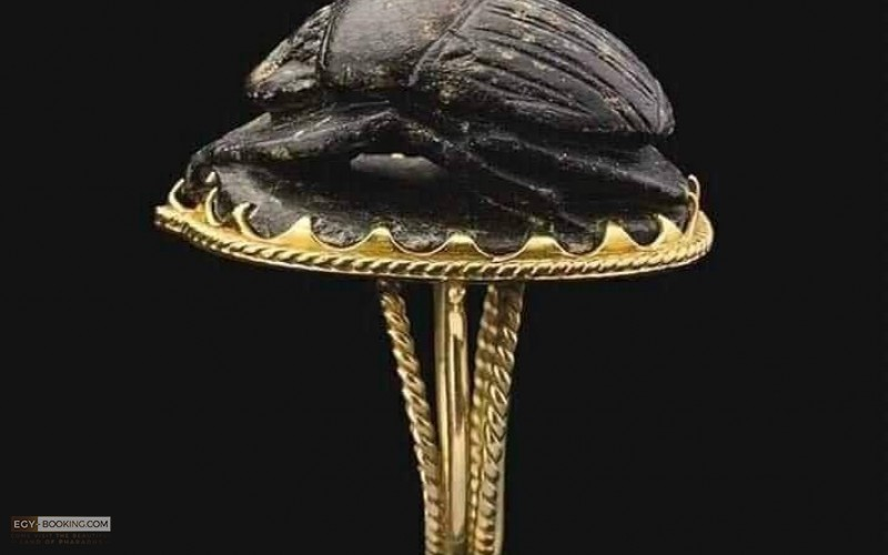 Rare ring of King Tutankhamun.