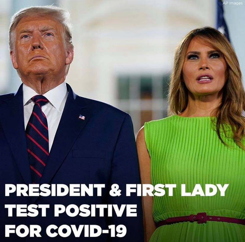 Donald Trump Tests Positive for Covid-19 Along With First Lady Melania Month Before Elections, Quarantined