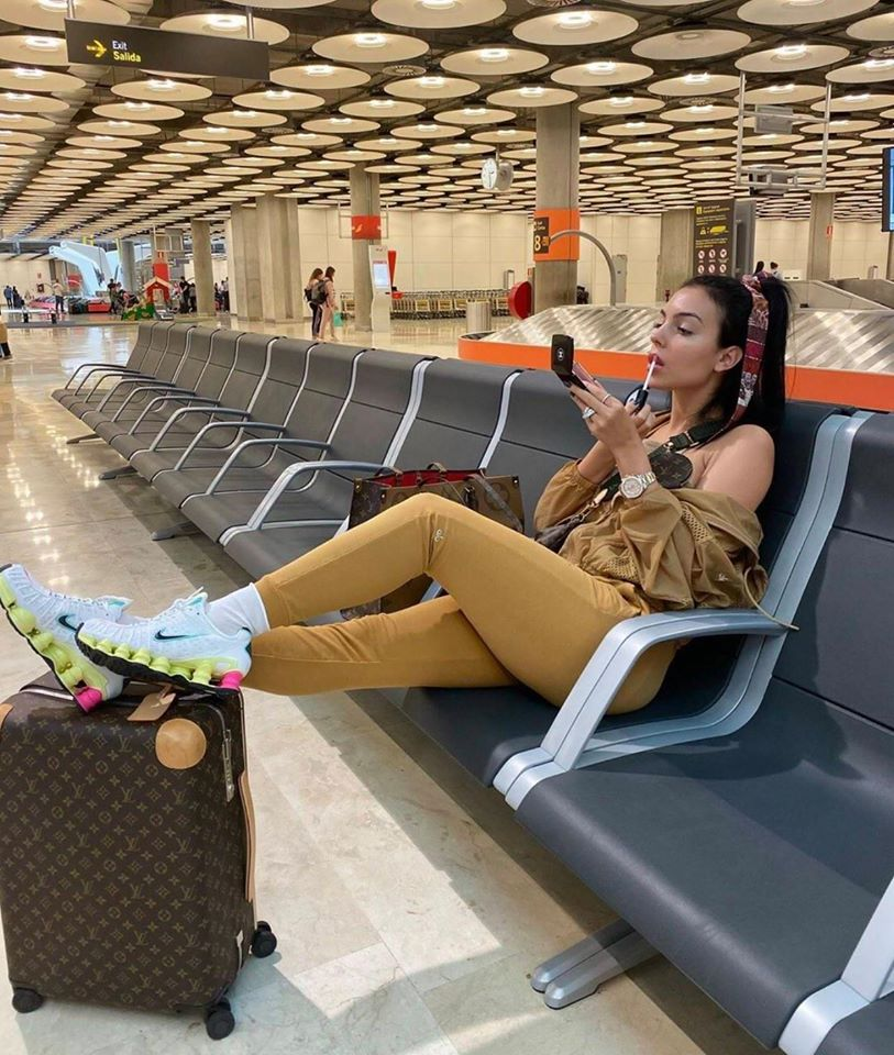 Cristiano Ronaldo's girlfriend Georgina Rodriguez is Heading to Egypt