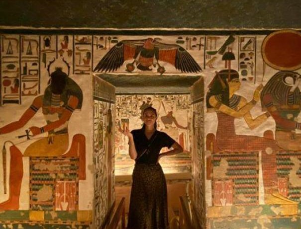 International Star Natalie Emmanuel Visited Egypt